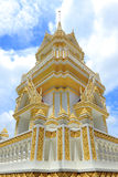Pagoda in the temple of Thailand. Pagoda in the temple of Bangkok ,Thailand Stock Photos