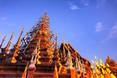 Pagoda temple twilight time Royalty Free Stock Image