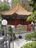 Pagoda at the temple Wong tai Sin in Hong Kong Royalty Free Stock Photography