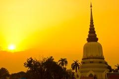 Pagoda thaïe Photographie stock libre de droits