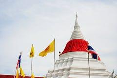 Pagoda thaïlandaise en Wat Poramaiyikawad Photos stock
