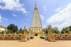Pagoda thaïlandaise (nongbau de fripes de Pra) Photos stock
