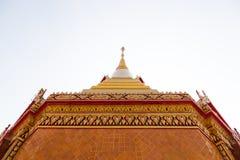 Pagoda thaïlandaise, Thaïlande (Wat Sattahip) photo stock