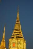 Pagoda. Thai style pagoda in the temple Royalty Free Stock Photo