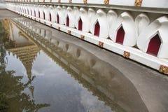 Pagoda at Thai temple at Khon Kaen Thailand Stock Photos