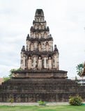 Pagoda in Thai temple. Stock Photo