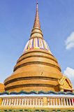 Pagoda at Thai temple style in Khon Kaen Thailand Stock Photography