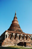 Pagoda in Thailand. Royalty Free Stock Photography