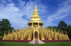 The pagoda  Thailand. Royalty Free Stock Image