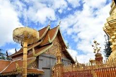 pagoda thailand Arkivfoto