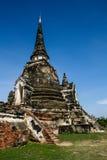 Pagoda Thailand. Pagoda History Place of Thailand At Ayutthaya Photo taken on 19 September 2009 royalty free stock image