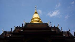 Pagoda of thailand. Pagoda on roof of thailand Royalty Free Stock Image