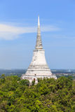 Pagoda,thailand,sky. Pagoda antiques destinations in southern thailand Royalty Free Stock Photography