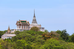 Pagoda,thailand,sky. Pagoda antiques destinations in southern thailand Stock Images