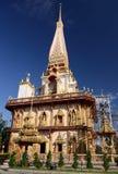 Pagoda in thailand. Pagoda in the temple phuket thailand Royalty Free Stock Photo