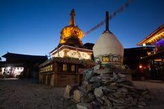 Pagoda tibétaine Photographie stock libre de droits