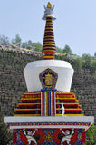 Pagoda of Tibetan Buddhism. In Qinghai China Royalty Free Stock Photography
