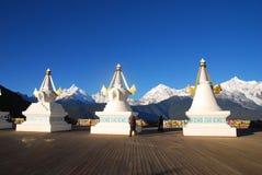 Pagoda tibetana Immagine Stock