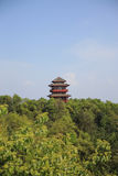 Pagoda of Tien mansan Royalty Free Stock Photos