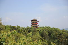 Pagoda of Tien mansan view Stock Images