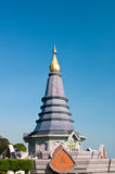 Pagoda on the top of mountain Stock Photography