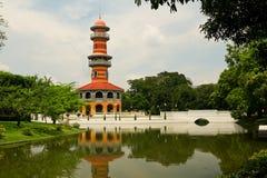Pagoda, torre de Tailandia Fotografía de archivo