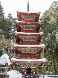 Pagoda at Toshogu shrine, Nikko Royalty Free Stock Photos