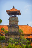Pagoda Tower at a Temple in Southeast Asia Stock Photos