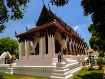 Pagoda ,  tower of Thailand. Pagoda in Thailand On the day the sky is clear Stock Photos