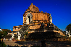 Pagoda ,  tower of Thailand. Pagoda in Thailand On the day the sky is clear Royalty Free Stock Photos