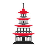 Pagoda traditional building japanese architecture Stock Photos