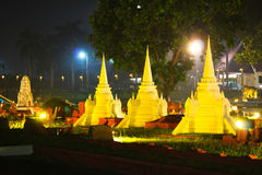 pagoda tre Arkivfoto