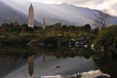 Pagoda tres Foto de archivo