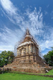 Pagoda under construction Royalty Free Stock Images
