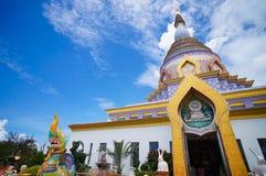 Pagoda2 variopinto in Chiang Mai Thailand Fotografie Stock