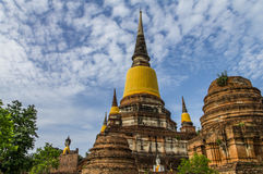 Pagoda vieja Imagenes de archivo