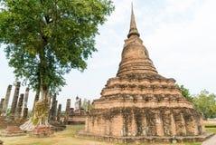 Pagoda vieja en el templo Imagenes de archivo