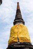 Pagoda vieja en el templo Tailandia Foto de archivo