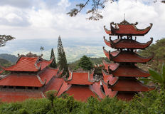 Pagoda in Vietnam. Royalty Free Stock Photos