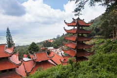 Pagoda in Vietnam. Royalty Free Stock Photography