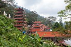 Pagoda in Vietnam. Royalty Free Stock Image