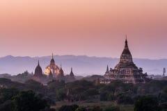 Pagoda w Bagan Zdjęcia Stock