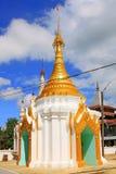 Pagoda W Inle jeziorze, Myanmar Zdjęcie Stock