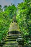 Pagoda w lesie, Tajlandia obrazy royalty free