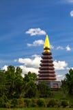 Pagoda w Phu-tok Obrazy Royalty Free