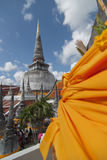 Pagoda w Wacie Mahathat, Nakhon Si Thammarat, Tajlandia Obraz Stock