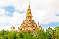Pagoda w Wacie Phra Ten Pha syna Kaew świątynia Fotografia Stock