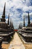 Pagoda w Wat Mahathat, Tajlandia Fotografia Royalty Free