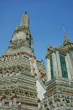 Pagoda at Wat Arun Royalty Free Stock Images