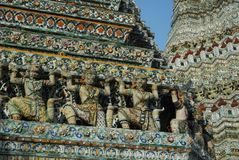 Pagoda at Wat Arun Royalty Free Stock Photos